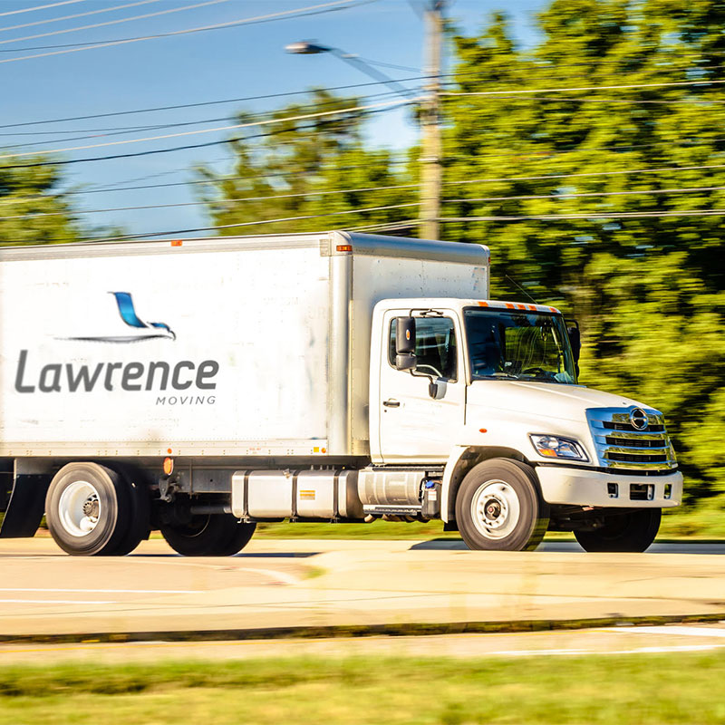 Lawrence Moving Straight Truck