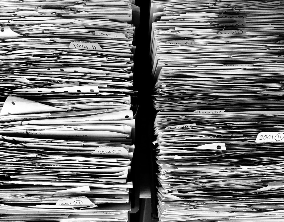 stacks of documents